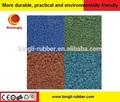 De malla 5-200 de llantas de desecho en polvo de caucho reciclado para ladrillos de goma
