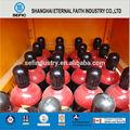 China proveedor 99.999% alta- la pureza de la botella de helio globo de gas, de gas de helio precio, helio globo de gas de gas industrial