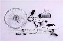 Heckmotor und gepäckträger batterie elektro-umrüstsatz mit Drossel