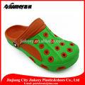 Conception mignonne coloré. chinois. eva sandal sabots de plage de fille chaussures sabots de jardin