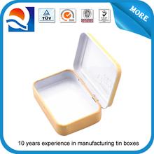 CMYK pritning metal electrical box , mini cake box , mini metal box