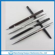 Slim cross metal hotel pen, popular hotel pen