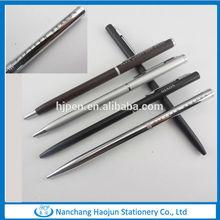 Slim cross metal hotel pen,0.5mm ballpoint pen
