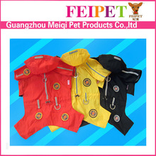Latest waterproof large dog rain coat