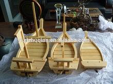 chất lượng cao bên sử dụng tiếng Nhật 50cm gỗ sushi thuyền bán