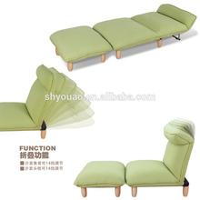 composite series stylish recliner sofa / wooden legs folding chair /folding sofa chair B197
