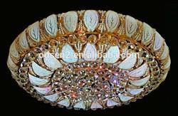 decorative glass cristal chandelier ceiling light