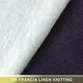 toque de seda de nylon de lino tejido jersey sencillo