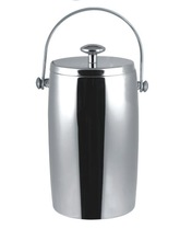 2.0L Stainless Steel champagne cooler metal wine carrier