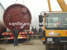 2014 hot-sale! 50% output Q245R waste plastic recycling into oil plant with best price & after service