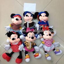 "CZZAG(391) 10"" mickey mouse plush toy wholesale"