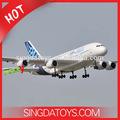 2.4g 4 canal télécommande rc avion airbus a380