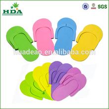disposable pedicure slippers for wholesale/eva foam disposable fip flop