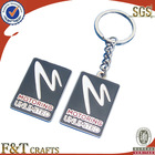 new style customized logo fashionable gift metal keychain parts