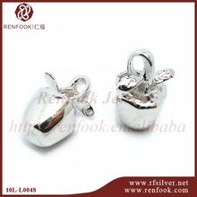 RenFook factory direct sale 925 sterling silverthe garden of Eden apple jewelry
