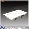updated 15W intergrated double square led ceiling panel for home decoration