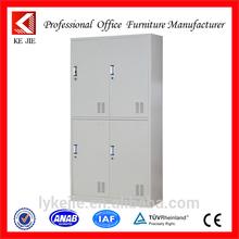 Kejie locker manufacturers uk 4 compartments steel locker