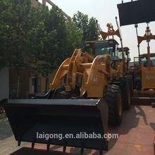 wheel loader shovel trucks 1.8ton bucket 0.4m3 level