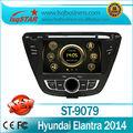 Autoradio speciale gps per hyundai elantra 2014 con DVD/bluetooth/radio/tv/gps/3g! Buona qualità!