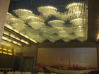 hotel lobby crystal light,large led crystal chandeliers,