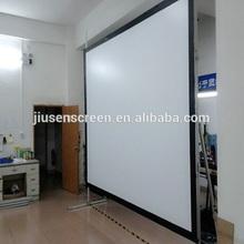 floor electric projector screen