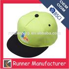 Customize plain snapback hats