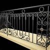 custom ornamental iron railing design