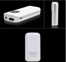 Lipstick Portable Universahigh quality 5600mAh Power Bank External Battery Mobile Charger w/ LED for iPhone for iPad for PSP MP4