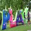 Latest design of giant inflatable letters with LED for advertising