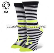 Apple Green Custom Made Wholesale Custom Socks Unsex/Women Sock/China Custom Sock Manufacturer Ow
