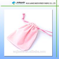 wuxi manufacturer one color velvet pouch