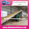 Vegetable and fruit dehydration machines and conveyor dryers
