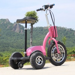 New design three wheeler standing up electric beach cruiser bicycle ce approved with big front tire