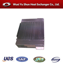 high performance aluminum plate and bar oil cooler for motorcycles