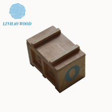 Faux wood box/Thin wood box