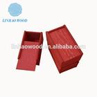 Top Quality Thin wood box,Faux wood box