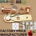 Fabricação de contato de prata agni/agcdo/agsno2 rebite para alternar vários/socket/relay/contator( tungstênio contato para buzina de automóvel)
