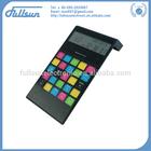 8 digital desktop solar calendar calculator with digital clock FS-2037