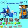 automatic hydraulic brick forming machine QTY3-15 paving bricks making machine