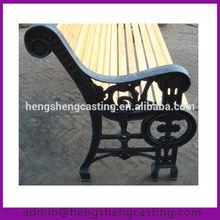 garden antique cast iron bench leg