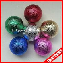 2014 good quality ball state christmas tree ornaments