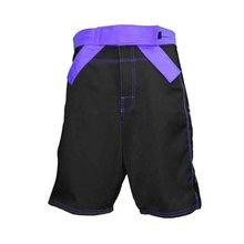Black Blank Mma Shorts Wholesale With Belt