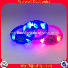 Chile Party /Club Supplies glittering silicone wristband Company