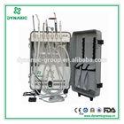 Air Compressor Head Veterinary Surgical Instruments Mobile Dental Unit DU852