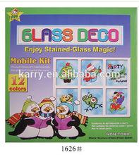 Non-toxic hot item 12-color Glass Deco paint