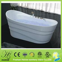 HS-B528 deep soaking tub,Modern types acrylic sheet,soaking tub