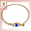 Latest Design Fashion Jewelry Gold Plated Greek Evil Eye Bracelet
