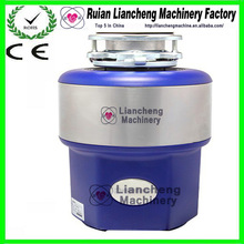 Kitchen Food Waste Disposer with Blue color 3 stage grinding All alloy stainless steel lugs and food waste disposal equipment