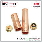 Hot selling ecig mechanical 1:1 clone copper vanilla mod with wholesale price