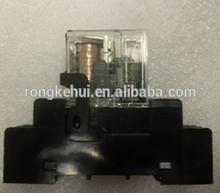 JQC-3FF/005-1ZS(555) thermal overload relay 15VDC 50VDC 220VAC 80A relay 250V 30A 14VDC 40A AC230V 130V mini power relay scoket